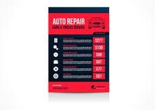 Автомобили ремонта автомобилей Стоковые Фото
