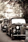 автомобили ретро Стоковое Изображение