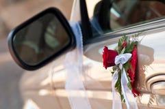 автомобили украсили дверь стоковые фотографии rf
