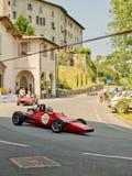 Автомобили формулы на Бергаме историческом Grand Prix 2017 Стоковые Фото