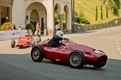 Автомобили формулы на Бергаме историческом Grand Prix 2017 Стоковое Изображение