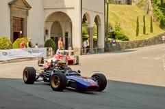 Автомобили формулы на Бергаме историческом Grand Prix 2017 Стоковая Фотография RF
