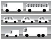 Автомобили Стоковые Изображения
