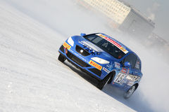 автомобильная гонка Стоковые Изображения RF
