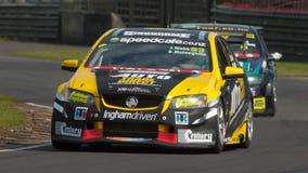 Автомобильная гонка Supertourers V8 Стоковые Изображения RF