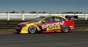 Автомобильная гонка Supertourers V8 Стоковое Изображение