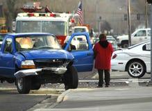 автомобильная катастрофа 2 Стоковая Фотография RF