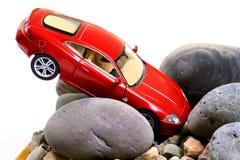 Автомобильная катастрофа стоковые фото