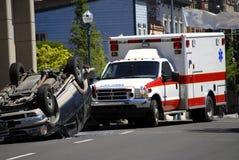 автомобильная катастрофа Стоковое Фото