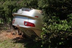 автомобильная катастрофа Стоковые Изображения