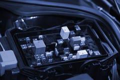 Автомобильная монтажная плата стоковое изображение