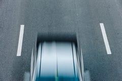 Автомобильное движение на часе пик Движение нерезкости Стоковое Изображение