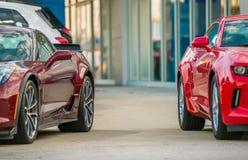 Автомобильное дело продаж Стоковое Изображение RF