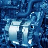 Автомобильный двигатель Стоковое Фото
