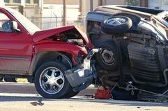 автомобиль аварии Стоковое Изображение