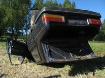 автомобиль аварии Стоковое фото RF