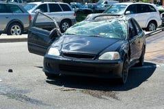 автомобиль аварии Стоковые Фото