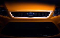 Автомобиль апельсина St фокуса Форда стоковые фото