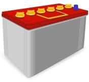автомобиль батареи иллюстрация вектора