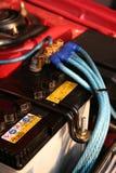 автомобиль батареи Стоковые Фотографии RF