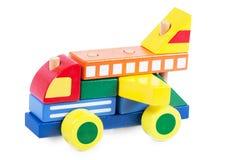 автомобиль блока деревянный Стоковые Фото