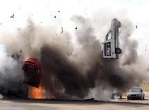 автомобиль бомбы Стоковая Фотография