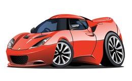 Автомобиль вектора шаржа бесплатная иллюстрация