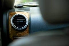 Автомобиль воздуха, установил на единственном фронте автомобиля стоковые фото