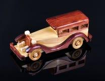 автомобиль деревянный Стоковая Фотография