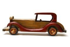 автомобиль деревянный Стоковые Изображения