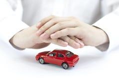автомобиль защищает ваше Стоковая Фотография RF