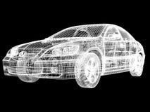 автомобиль здания Стоковое Изображение RF