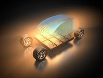 Автомобиль и E-подвижность Стоковое фото RF