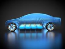 Автомобиль и E-подвижность Стоковая Фотография