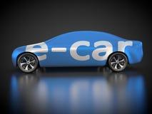 Автомобиль и E-подвижность Стоковые Фото