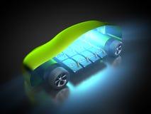 Автомобиль и E-подвижность Стоковые Изображения