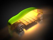 Автомобиль и E-подвижность Стоковое Изображение