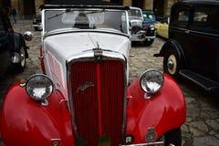 Автомобиль классики Остина стоковые фотографии rf