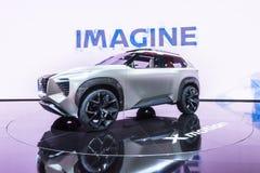 Автомобиль концепции Nissan Xmotion, NAIAS Стоковые Фото