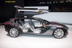 Автомобиль концепции Opel Монцы стоковое изображение