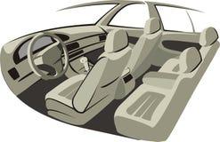 автомобиль крытый иллюстрация вектора