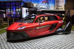 Автомобиль летания свободы приятеля-V делает свой общественный дебют стоковое изображение