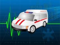 автомобиль медицинский иллюстрация вектора