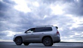 Автомобиль на дороге Стоковые Фотографии RF