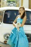 автомобиль невесты стоковые фото