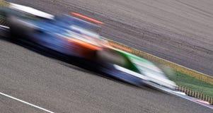 автомобиль нерезкости голодает гонка Стоковое Фото