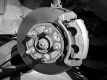 Автомобиль обслуживания тарельчатых тормозов Стоковые Фото