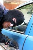 автомобиль ограбления стоковое изображение rf