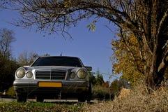 автомобиль осени Стоковая Фотография RF