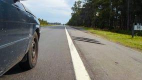 Автомобиль перемещения стоковая фотография